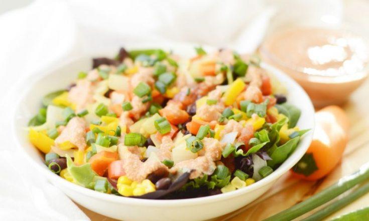 vegan Mexican salad