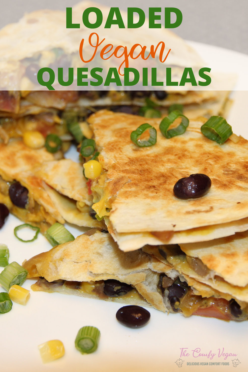This Vegan Quesadilla Recipe is so simple and easy to make! With a few easy ingredients, you'll be chowing down in no time at all.